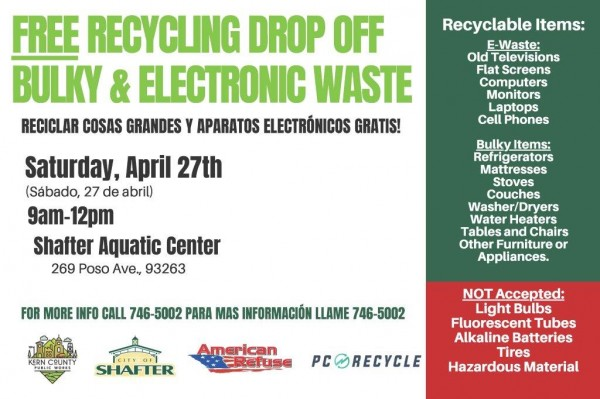 Shafter Community Clean- up Event