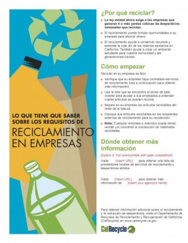 Apartment Flyer - Spanish